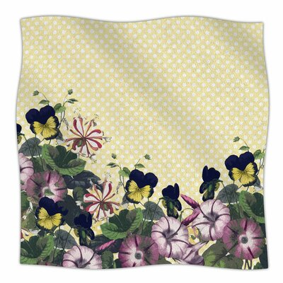 Polka Dot by Alison Coxon Fleece Blanket