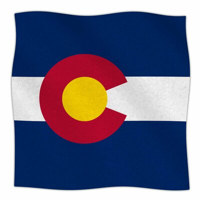 Flag of Colorado Ii by Bruce Stanfield Fleece Blanket