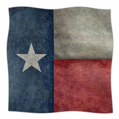 Texas State Flag by Bruce Stanfield Fleece Blanket