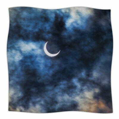 Night Moves by Bruce Stanfield Fleece Blanket Size: 80'' L x 60'' W