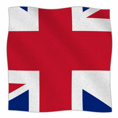 Classic Union Jack by Bruce Stanfield Fleece Blanket