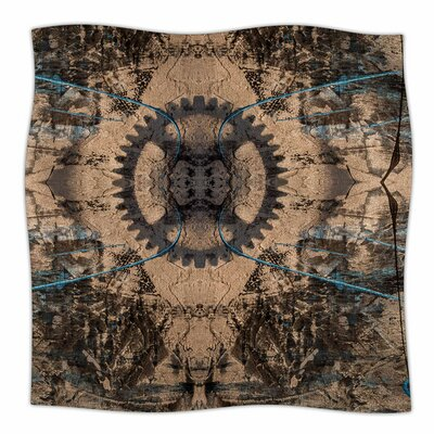 Zion 1178 by Bruce Stanfield Fleece Blanket Size: 80'' L x 60'' W