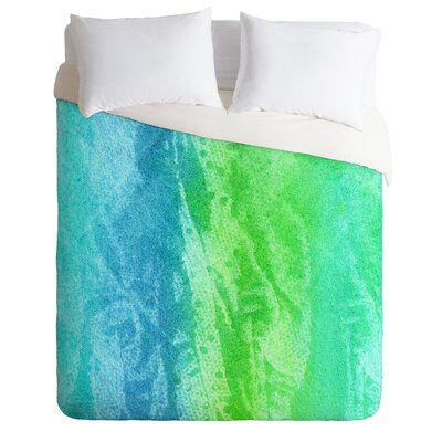 Caribbean Sea Duvet Cover Size: King