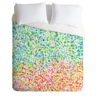 Cool To Warm by Laura Trevey Lightweight Duvet Cover Size: Twin