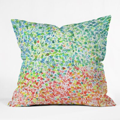 Cool To Warm by Laura Trevey Indoor/Outdoor Throw Pillow Size: 20