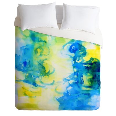 Be Inspired by Laura Trevey Lightweight Duvet Cover Size: King