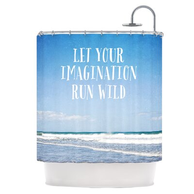 Let Your Imagination Run Wild Shower Curtain