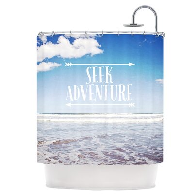 Seek Adventure Shower Curtain