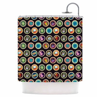 Toys, Games and Candy Shower Curtain