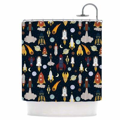 Rockets Shower Curtain