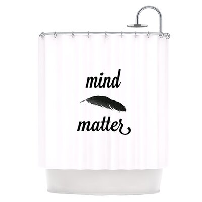 Mind Over Matter II Shower Curtain