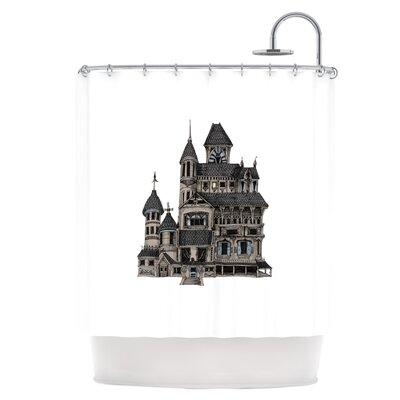 House of Usher Shower Curtain