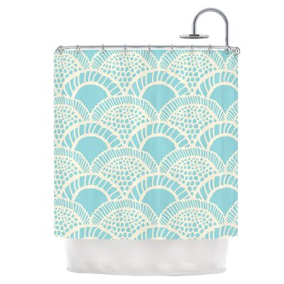 Heathered Scales Shower Curtain
