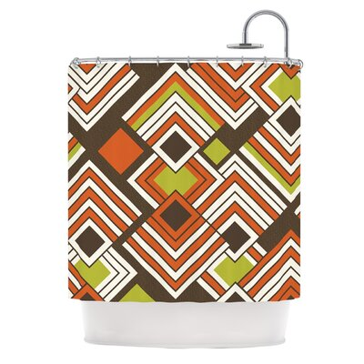 Shower Curtain Color: Coffee