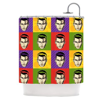 Johnny Depop Shower Curtain