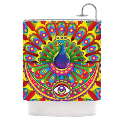 Peacolor Shower Curtain