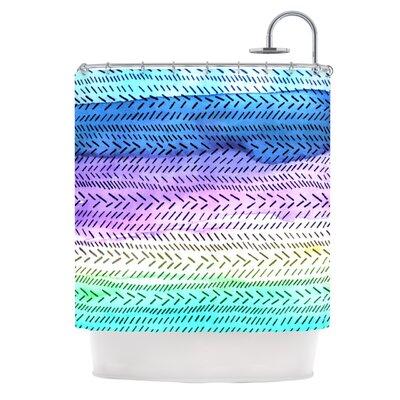 Aqua Shower Curtain