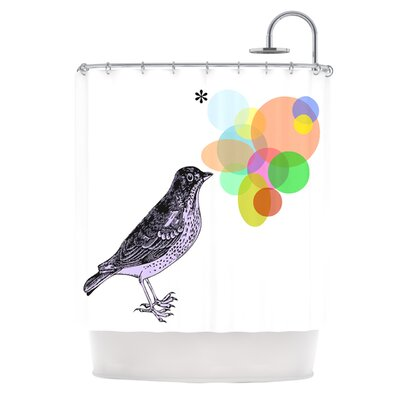 Candy Birds Shower Curtain
