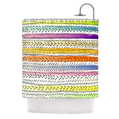 III Shower Curtain