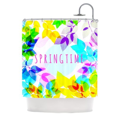 Seasons Springtime Shower Curtain