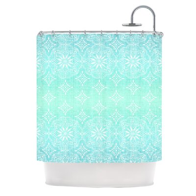 Shower Curtain Color: Aqua