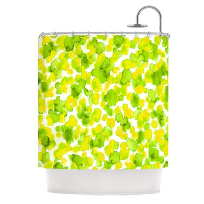 Shower Curtain Color: Lemon Lime