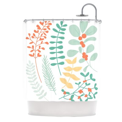 Shower Curtain Color: Red