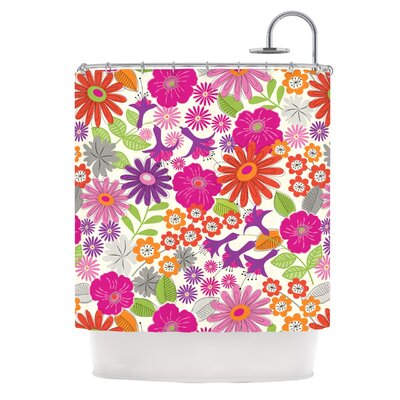 Lula Shower Curtain Color: Tropical