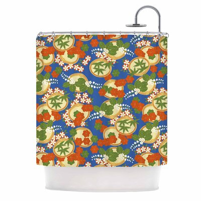Clam And Paulownia Shower Curtain