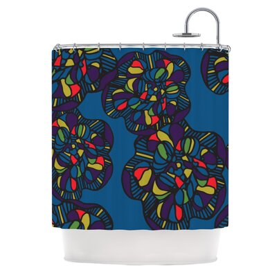 Mushroom Flower Shower Curtain