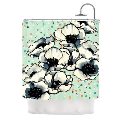 Anenome Fizz Shower Curtain