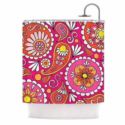 Paisley Pop Shower Curtain