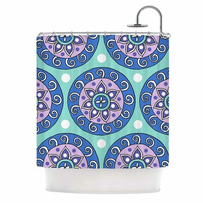 Mandala Dot Shower Curtain