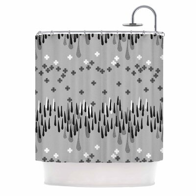 A Touch of Memphis Shower Curtain