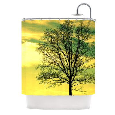 Tree Sky Shower Curtain