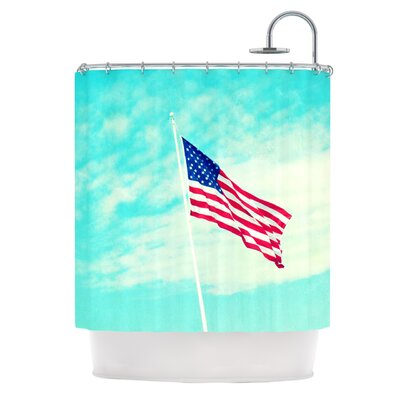 USA Colors Shower Curtain