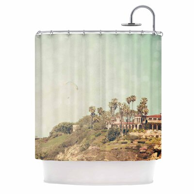 West Coast I Shower Curtain