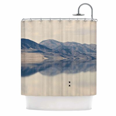Reflective I Shower Curtain