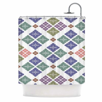 Lozenge Shower Curtain