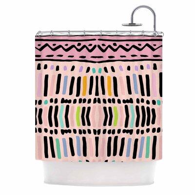 Native Pastel Shower Curtain