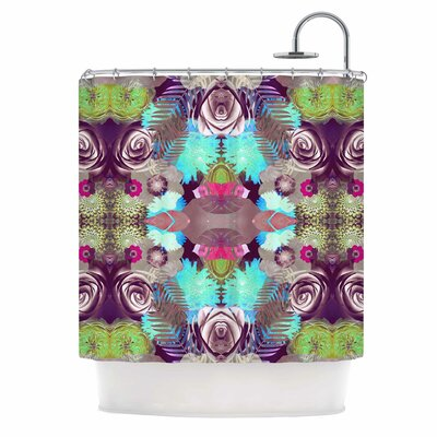 Kaleidoscopic Boho Shower Curtain