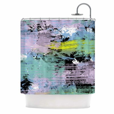Watercolor Texture Shower Curtain