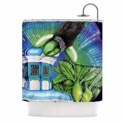 New Zealand Shower Curtain