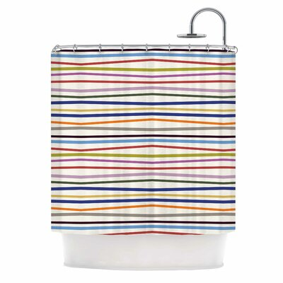 Stripe Fun Shower Curtain
