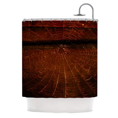 Dark Web Shower Curtain