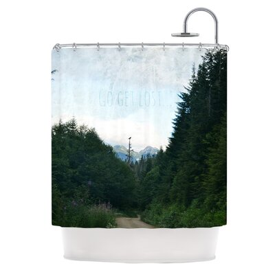 Go Get Lost Shower Curtain