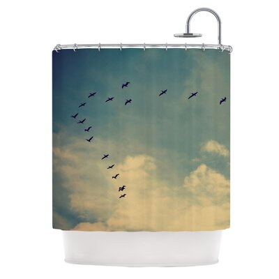 Pterodactyls Shower Curtain