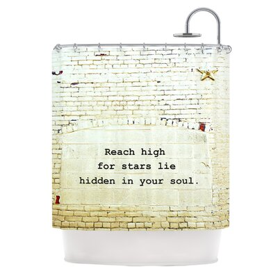 Reach High Shower Curtain