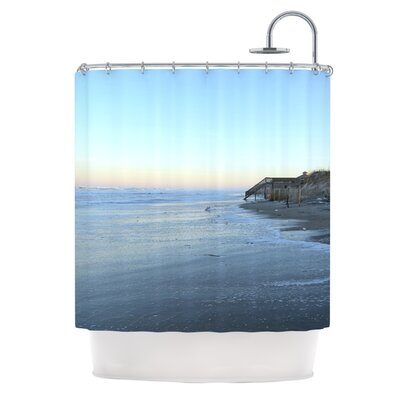 Sand Surf Sunshine Shower Curtain