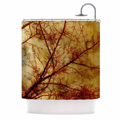 Gothic Tree Shower Curtain